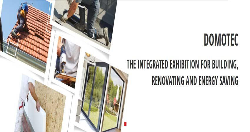 نمایشگاه ساختمان و بازسازی DOMOTEC 2019 یونان