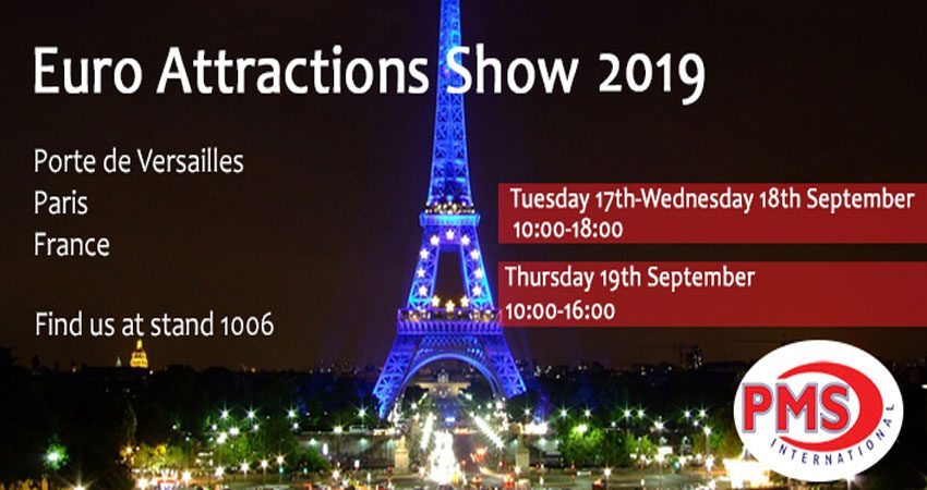 نمایشگاه و کنفرانس صنعت سرگرمی EURO ATTRACTIONS SHOW 2019 فرانسه