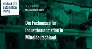 نمایشگاه اتوماسیون صنعتی ALL ABOUT AUTOMATION – LEIPZIG 2019 آلمان