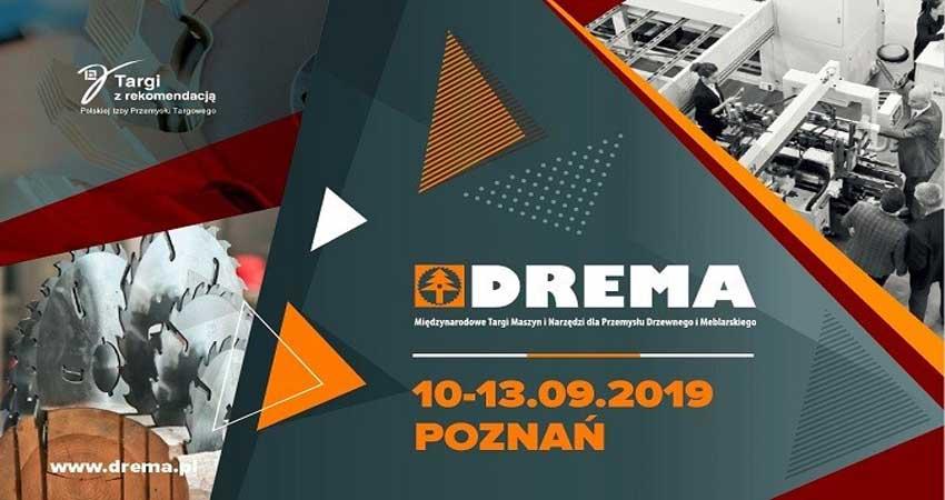 نمایشگاه ماشین آلات صنایع چوب و مبلمان DREMA 2019 لهستان