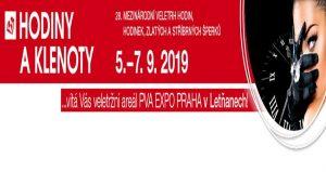 نمایشگاه ساعت و جواهرات WATCHES & JEWELLERY – HODINY A KLENOTY 2019 جمهوری چک