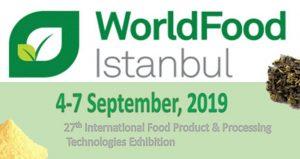 نمایشگاه بین المللی مواد غذایی WORLD FOOD ISTANBUL 2019 ترکیه