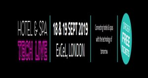 نمایشگاه نوآوری و فناوری هتل و اسپا HOTEL & SPA TECH LIVE 2019 انگلستان