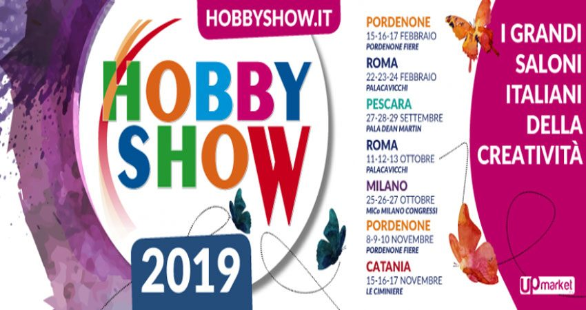 نمایشگاه بازی و سرگرمی HOBBY SHOW - PESCARA 2019 ایتالیا