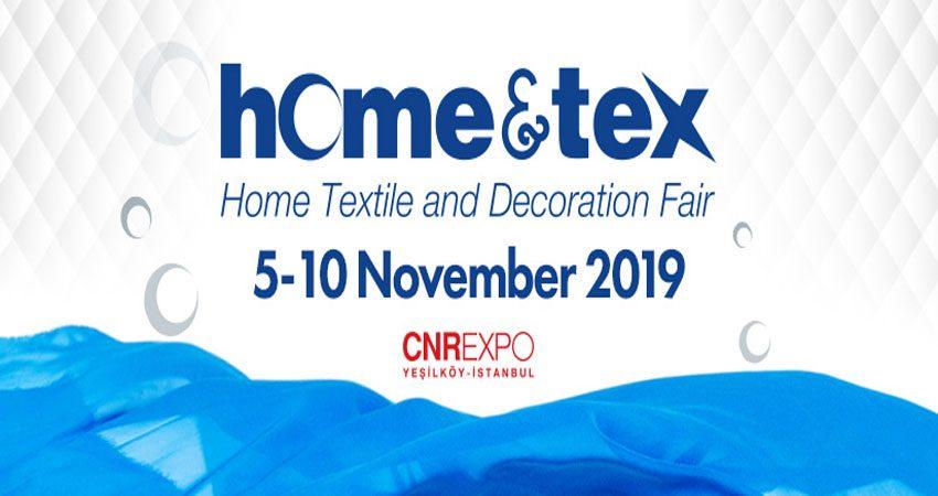 نمایشگاه منسوجات و صنایع دستی HOME&TEX 2019 ترکیه