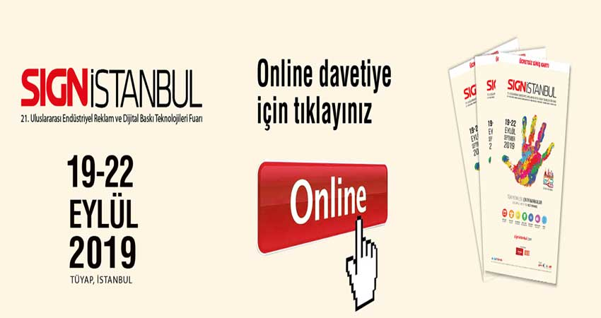 نمایشگاه بین المللی تبلیغات و فن آوری های چاپ دیجیتال SIGN ISTANBUL 2019 ترکیه