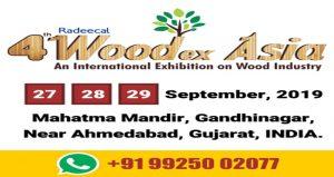 نمایشگاه بین المللی صنایع چوب WOODEX ASIA 2019 هند