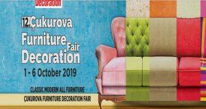 نمایشگاه مبلمان و دکوراسیون ADANA FURNITURE – DECORATION FAIR 2019 ترکیه