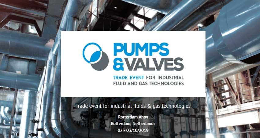 نمایشگاه پمپ و شیر آلات PUMPS & VALVES 2019 هلند