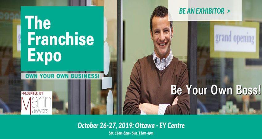 نمایشگاه فرصت های فرانشیز و کسب و کار THE FRANCHISE EXPO - OTTAWA 2019 کانادا