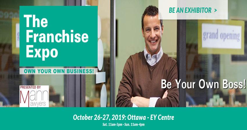 نمایشگاه فرصت های فرانشیز و کسب و کار THE FRANCHISE EXPO – OTTAWA 2019 کانادا
