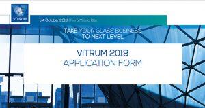 نمايشگاه بين المللی صنعت شیشه VITRUM 2019 ایتالیا