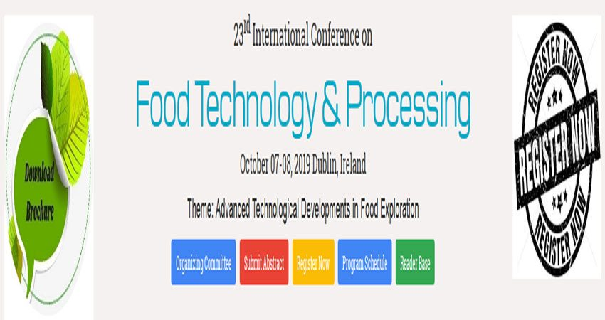 نمایشگاه و کنفرانس بین المللی تکنولوژی مواد غذایی FOOD PROCESSING & TECHNOLOGY 2019 ایرلند