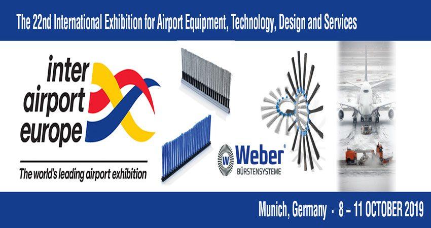 نمایشگاه بین المللی تجهیزات فرودگاه INTER AIRPORT EUROPE 2019 آلمان
