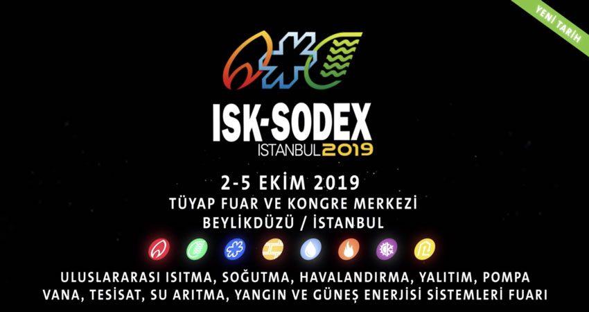 نمایشگاه و کنفرانس تجهیزات تصفیه آب و هوا ISK-SODEX ISTANBUL 2019 ترکیه