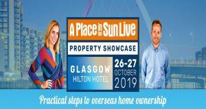 نمایشگاه املاک و مستغلات A PLACE IN THE SUN LIVE – GLASGOW 2019 اسکاتلند