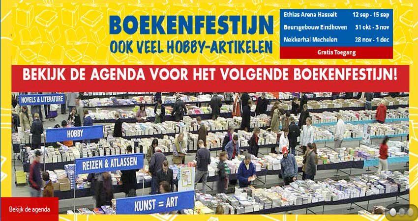 نمایشگاه کتاب BOEKENFESTIJNEN - BRUSSELS 2019 بلژیک