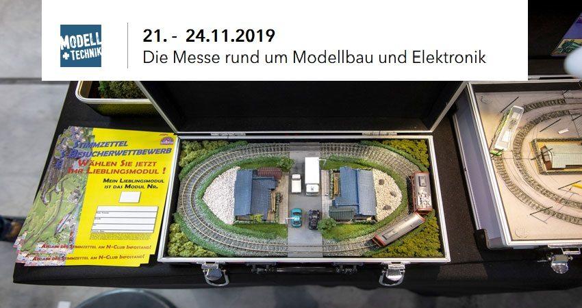 نمایشگاه ساخت مدل و الکترونیک MODELL SÜD 2019 آلمان