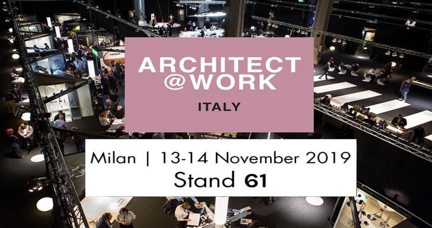 ویزای نمایشگاهی معماری و طراحی داخلی ARCHITECT@ WORK – MILAN 2019 ایتالیا