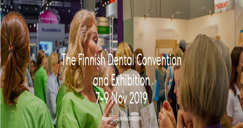 ویزای نمایشگاهی دندانپزشکی THE FINNISH DENTAL 2019 فنلاند