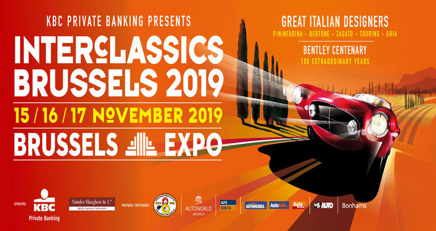 تور نمایشگاهی اتومبیل کلاسیک INTERCLASSICS BRUSSELS 2019 بلژیک