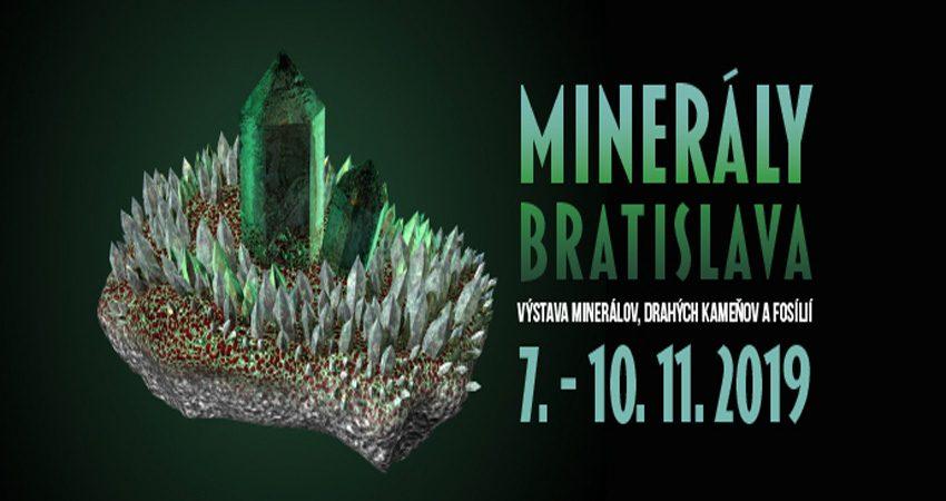 نمایشگاه مواد معدنی MINERALS BRATISLAVA 2019 اسلواکی