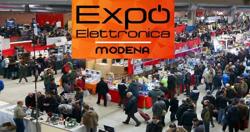 نمایشگاهی لوازم الکترونیکی EXPO ELETTRONICA - MODENA 2020 ایتالیا