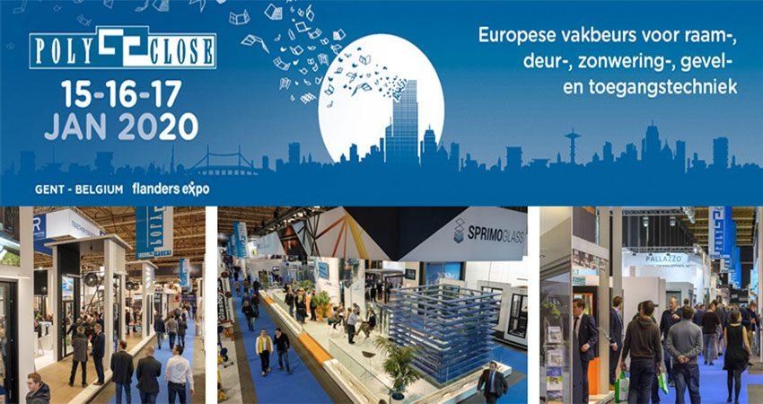 نمایشگاه درب و پنجره POLYCLOSE 2020 بلژیک