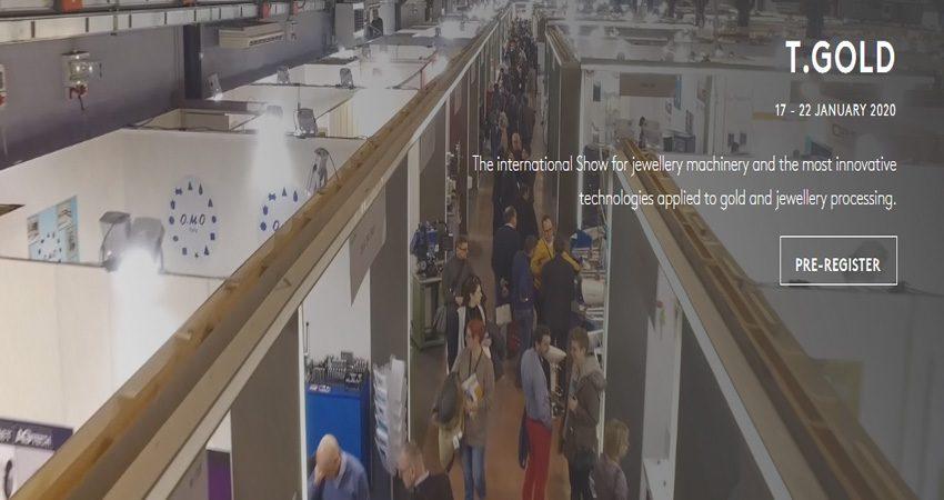 نمایشگاه تجهیزات تولید جواهرات و سنگهای قیمتی T-GOLD 2020 ایتالیا