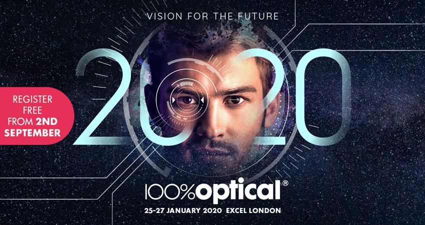 نمایشگاه نوری و اپتیک 100% OPTICAL 2020 انگلستان