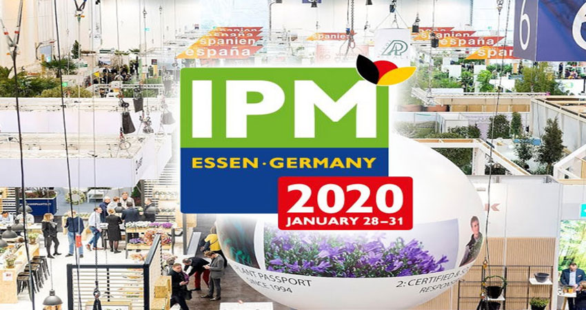 نمایشگاه گل و گیاه IPM 2020 آلمان