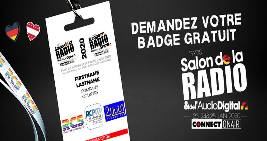 نمایشگاه رادیو و دیجیتال صوتی SALON DE LA RADIO ET DE L'AUDIO DIGITAL فرانسه
