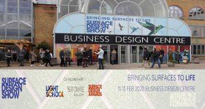 ویزای نمایشگاه معماری و طراحی داخلی SURFACE DESIGN SHOW 2020 انگلستان