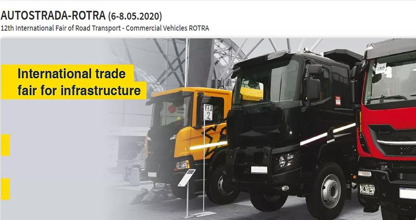 نمایشگاه حمل و نقل جاده ای ROTRA 2020 لهستان
