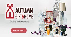 ویزای نمایشگاه هدایا و لوازم جانبی منزل AUTUMN GIFT & HOME FAIR 2020 ایرلند