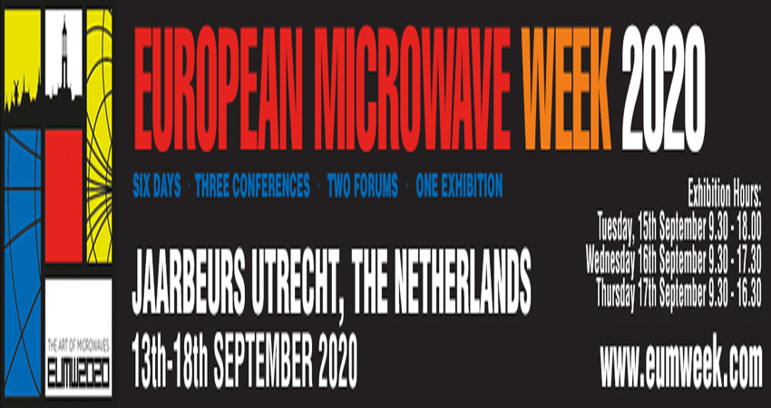 کنفرانس مایکروویو EUROPEAN MICROWAVE WEEK '2020 فرانسه