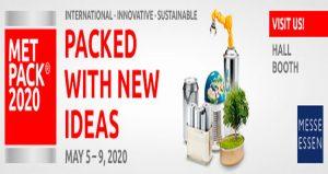 ویزای نمایشگاه بسته بندی فلزی METPACK 2020 آلمان