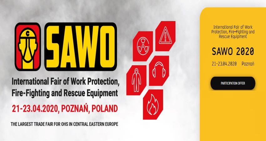 نمایشگاه ایمنی و تجهیزات آتش نشانی SAWO 2020 لهستان