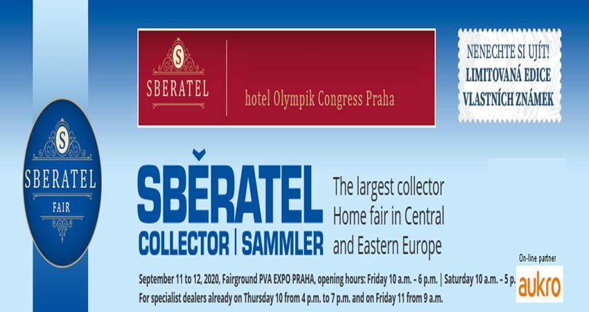 نمایشگاه تمبر ، سکه ، کارت پستال ، مواد معدنی SBERATEL/COLLECTOR 2020 جمهوری چک