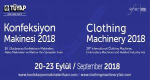 ویزای نمایشگاه ماشین آلات پوشاک ، گلدوزی و صنایع جانبی CLOTHING MACHINERY 2020 ترکیه