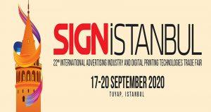 ویزای نمایشگاه تبلیغات و فناوری های چاپ دیجیتال SIGN ISTANBUL 2020 ترکیه
