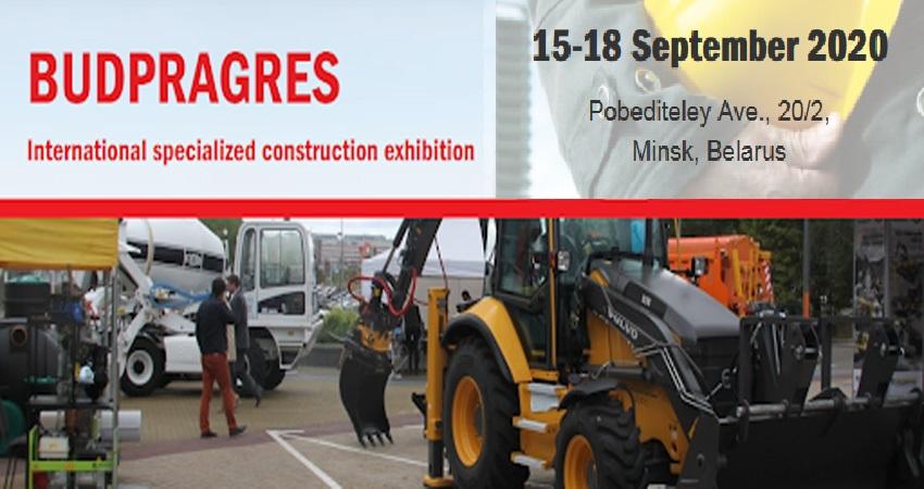 نمایشگاه ساخت و ساز BUDPRAGRES 2020 بلاروس