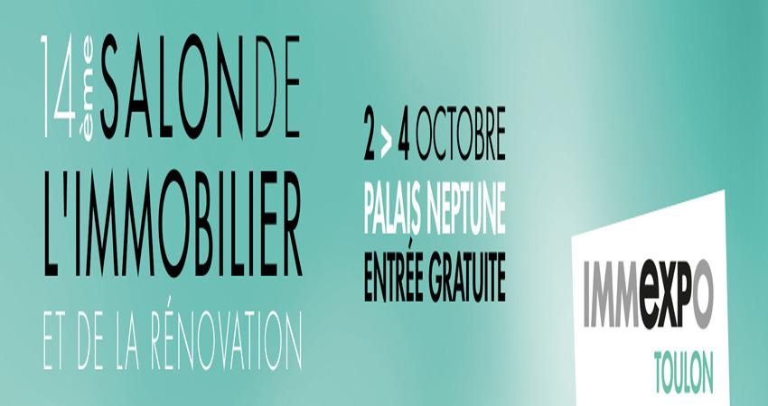نمایشگاه املاک و مستغلات IMMEXPO TOULON 2020 فرانسه