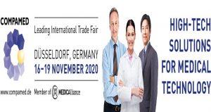 ویزای نمایشگاه تکنولوژی تجهیزات پزشکی COMPAMED 2020 آلمان