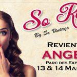 نمایشگاه مد ، مبلمان و دکوراسیون SO VINTAGE – LA ROCHELLE 2021 فرانسه