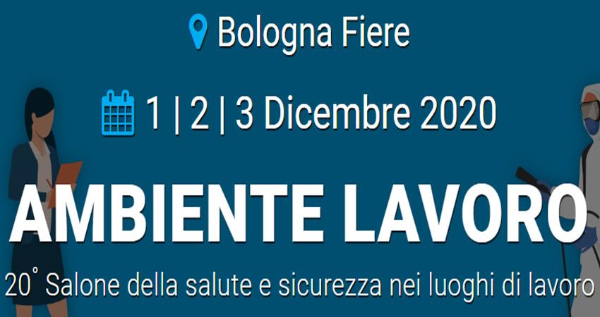 نمایشگاه بهداشت و ایمنی کار AMBIENTE LAVORO 2020 ایتالیا