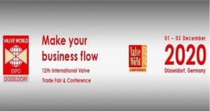 نمایشگاه و کنفرانس لوله و شیرآلات VALVE WORLD 2020 آلمان