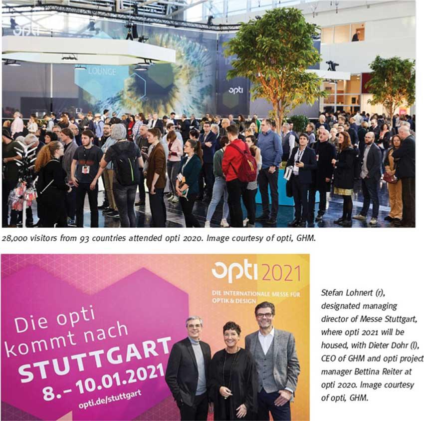 نمایشگاه اپتیک و عینک OPTI 2021 آلمان