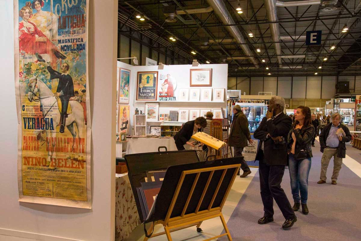 نمایشگاه عتیقه جات و هنر ALMONEDA 2020 اسپانیا