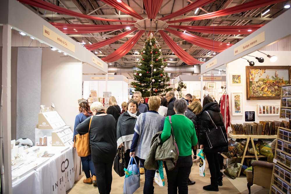 نمایشگاه کریسمس COUNTRY LIVING CHRISTMAS FAIR - HARROGATE 2020 انگلستان